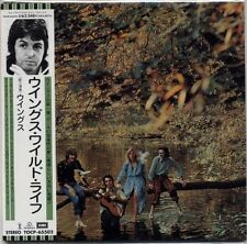 PAUL McCARTNEY WINGS Wild Life JAPAN 1999 MINI LP CD GENUINE! RARE!!
