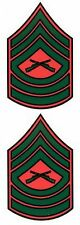 Marine Master Sergeant Decal Sticker