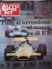 Autosprint n°41 1971 Ronnie Peterson Europeo a Vallelunga  [P47]