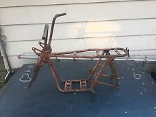 Vintage Rupp Minibike 60s Frame Classic Headlight Fork And Bars GREAT Project