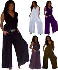 @T590 JUMPSUIT LACING RAYON MADE 2 ORDER S M L XL 1X 2X 3X 4X WOMENS FASHION