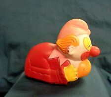 VINTAGE DURHAM INDUSTRIES JAPAN 1959-60's--RUBBER FRICTION CLOWN CAR BOZO ?