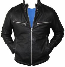 "G-STAR RAW Men's ENGINE LEATHER Jacket Size L ""Brand New"""