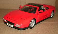 1/18 Ferrari 348ts Diecast Model Sports Car - 1990 Ferrari 348 ts Targa Coupe