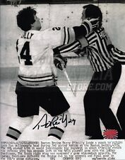 Terry O'Reilly Boston Bruins Signed Autographed Wire Image Referee Punch 8x10