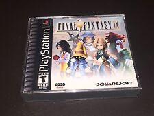 Final Fantasy IX 9 Playstation 1 PS1 Complete CIB