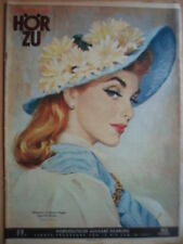 HÖRZU 28 - 1959 TV 12.-18.7. München Bünde (Westf.) Hochseefischer Mode Mecki