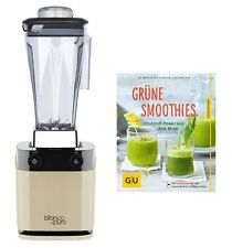 "Standmixer Bianco di puro volto Champagner-Gold inkl. Buch ""Grüne Smoothies"""