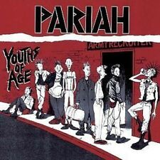 Pariah Youths Of Age CD NEW SEALED 2005 Punk