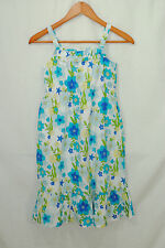 Gymboree Sea Splash Size 10 Girls Sun Dress Blue Green Yellow Floral Fish New