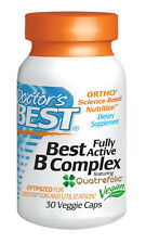 Best Fully Active B Complex - Doctor's Best - 30 Veggie Capsules
