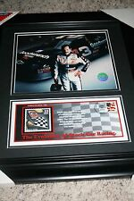 Dale Earnhardt Sr.-Collectible Cust Matted and Framed Art- Stock Car Racing