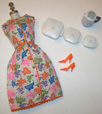 Vintage Barbie Brunch Time #1628 Coffee's On #1670 Casseroles Pot Orange Heels
