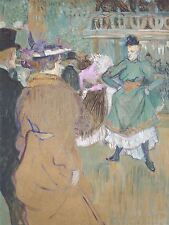 HENRI TOULOUSE LAUTREC FRENCH QUADRILLE MOULIN ROUGE ART PAINTING POSTER BB5665A