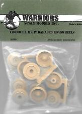 Warriors Cromwell MK IV Damaged Road Wheels British Tank 1/35 Scale #WA35190