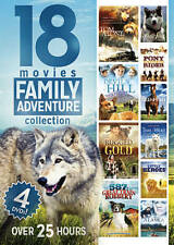 Family Adventure Collection: 18 Movies (DVD, 2014, 4-Disc Set)