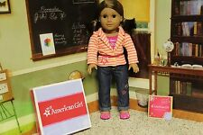 "American Girl ""Bright Stripes Outfit"" - COMPLETE - NIB"