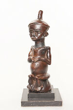 Buyu Clay Figure, Democratic Republic of Congo, African Sculpture