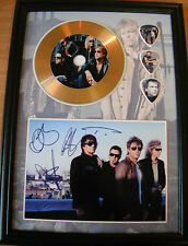 Bon Jovi Gold Look CD, Autograph & Plectrum Display - Best Price on eBay