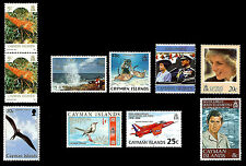 Cayman Islands. Issues of 1969-1998. MNH,