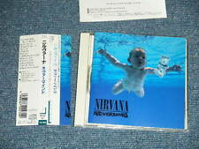 NIRVANA Japan 1991 ORIGINAL 1st Press NM CD+Obi NEVERMIND