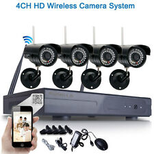 8CH 720P 1.0MP Wireless WIFI NVR Outdoor Network IRCut IP Security Camera System