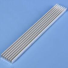 Radiator 150mm*20mm*6mm High Power LED Aluminum Heatsink For Led Emitter Diodes