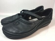 Naot Women's Matai Mary Janes Black Leather Shoes Sz 42/ 11 US