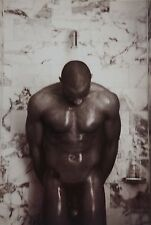"Davide Armando Original Portfolio Photo Print aus ""Bodybuilder"", 30x42 Male Nude"