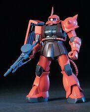 Bandai Gundam HGUC 032 1/144 MS-06S Chars ZAKU II Model Kit