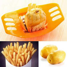 Kitchen Cooking Tool gadgets Stainless Steel Fries Potato Cutter Slicer Chopper
