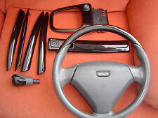 Volvo S40/V40 black/leather Steering Wheel + trims, 2001-2004 PHASE 2 MODELS