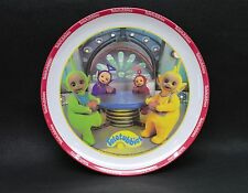 1998 Teletubbies Plastic Plate with Red Rim
