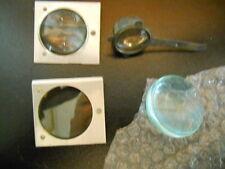 """Vintage Dukane 28A15C Filmstrip Projector Lens Set, Film Strip, 2"""" Condenser"""
