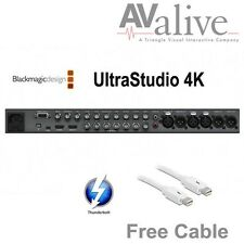 Blackmagic Design BDLKULSR4K/2 UltraStudio 4K 2 w/ 6FT Thunderbolt Cable Free