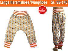 Lange Haremshose/Pumphose ''Superlässig'' für Kinder nähen, Schnittmuster