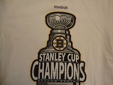 NHL Boston Bruins National Hockey League Fan Stanley Cup Champions T Shirt M