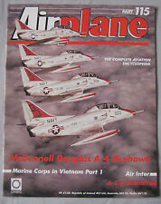 Airplane Issue 115 McDonnell Douglas A-4 Skyhawk cutaway drawing & poster