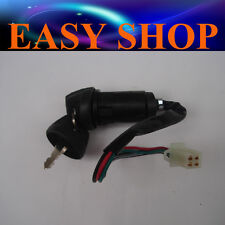 4 pin plug Ignition Key Switch Honda CT100 Moped 110cc ATV Quad Dirt Bike