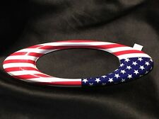 USA OAKLEY FLAG METAL ICON STICKER DECAL BRAND NEW