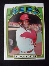 1972 TOPPS #256 GEORGE FOSTER REDS