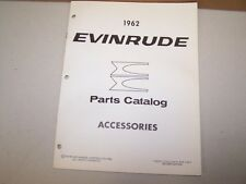 1962 Evinrude Outboard Factory Accessories Parts List Boat Motor
