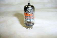 1976 RCA 12AX7A ECC83 Tube gray plates O-getter tested 90%