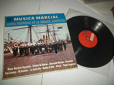 MUSICA MARCIAL LP RARE ARGENTINA MARCHING BAND LP CBS VG+
