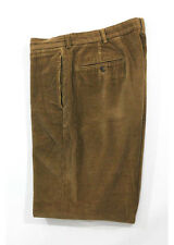BROOKS BROTHERS HUDSON Men's Brown Corduroy Cotton Casual Pants Sz W36/L30