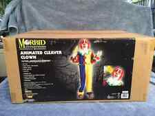 Halloween Lifesize Animated CLEAVER CLOWN Prop Haunted House NEW