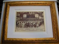1910 Photo Bible Students Cross and Crown Jehovah Watchtower IBSA