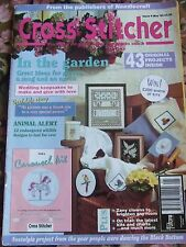 CROSS STITCHER MAGAZINE MAY 1993 IN THE GARDEN ANIMAL ALERT ZANY CLOWNS KITS