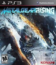 Metal Gear Rising: Revengeance - Raiden Action Stealth Katan Combat PS3 NEW