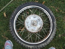 1971 BOMBARDIER DIRT BIKE GARELLI MINI BIKE ITALY REAR REAR RIM SPROCKET BRAKES